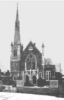 Curremnt church in 1903