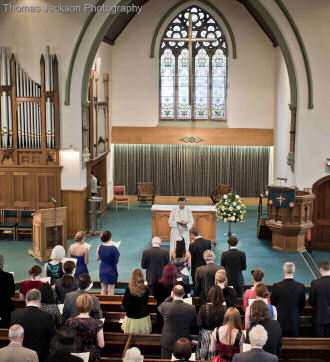 A wedding at Elvet
